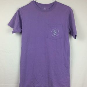 Women's purple Southern Tide T-shirt size XXS